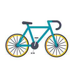 sport bicycle icon vector image