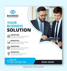 Business web marketing banner vector