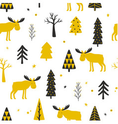 Festive seamless background vector