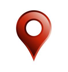 Geo location pin icon vector