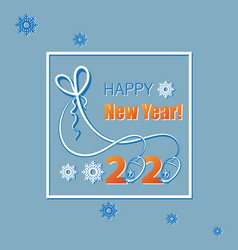 Happy new year 2020 with basic numbers and vector