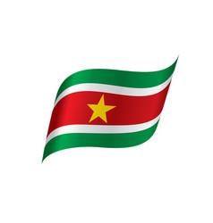 suriname flag vector image