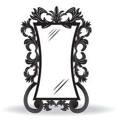 Vintage ornamented frame vector