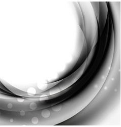 White wave textured background vector
