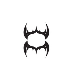wing bat logo and symbols template icons vector image