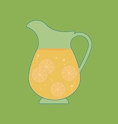 Decanter Carafe Icon vector image