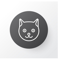 cat icon symbol premium quality isolated kitten vector image