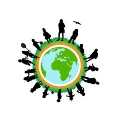 Children world vector image
