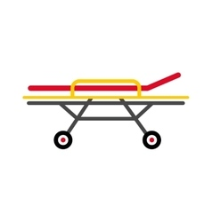 Stretcher vector image