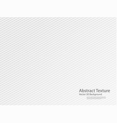 abstract white texture background 3d design vector image