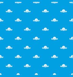 Basketball pattern seamless blue vector