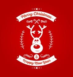 Christmas Badge 7 vector