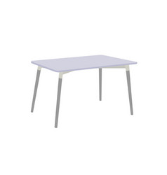 multi purpose table isolated on white background vector image