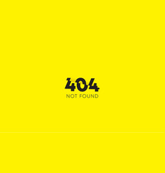 Not found page vector