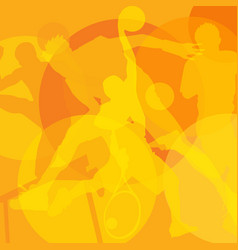 Sport background olympiad vector