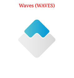 Waves waves logo vector