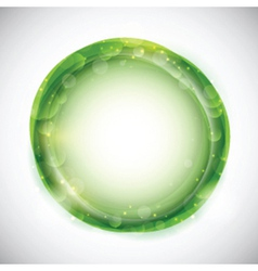 Abstract circular design vector image vector image