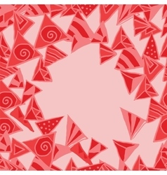 Abstract pattern background memphis style vector image vector image