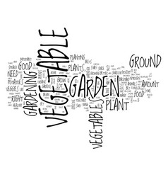 Great tips on how to set up a vegetable garden vector