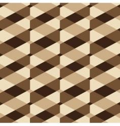 vintage geometric pattern vector image vector image