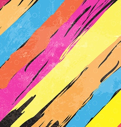 color paint stripe background vector image vector image