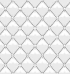 Seamless Stitched Leather Upholstery vector image vector image