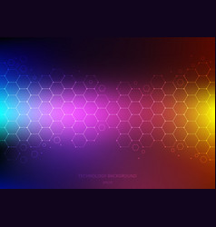 abstract science and technology concept from vector image