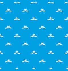 Buckle wear pattern seamless blue vector