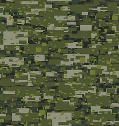 Camouflage urban disruptive block khaki seamless vector image