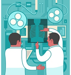 Collaboration in medicine vector