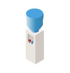 dispenser isometric icon vector image
