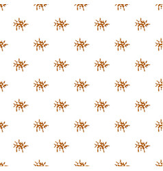 Drop of caramel pattern vector