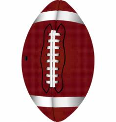 football pigskin vector image