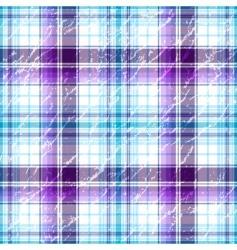 grunge checkered pattern vector image
