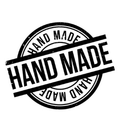 Hand made rubber stamp vector