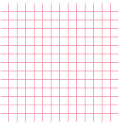 Notebook paper texture pink cell template squared vector