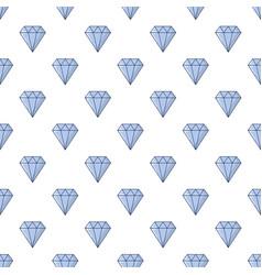Precious stone pattern seamless vector
