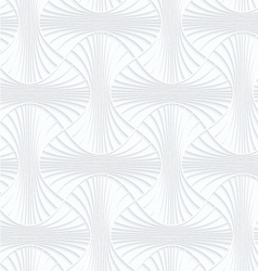 Quilling paper striped rounded pin will vector