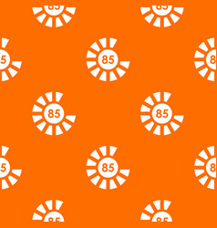 Sign 85 load pattern seamless vector