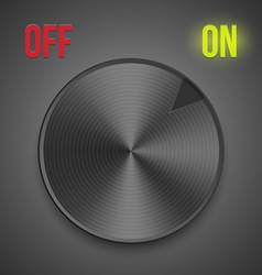 turn button vector image