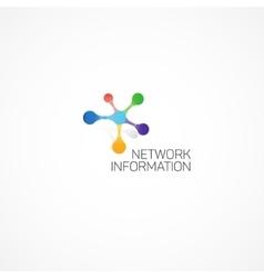 Network Information vector image