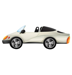 An elegant sports car vector image vector image