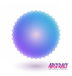 Abstract Spectrum Flower Spirograph vector image