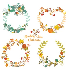 Autumn Banners and Tags vector image vector image