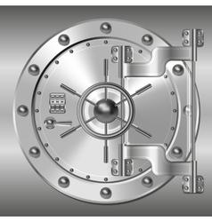Bank doors vector image