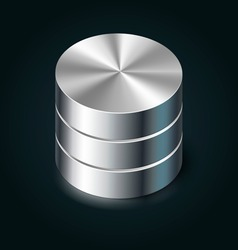 Data Storage Icon vector image