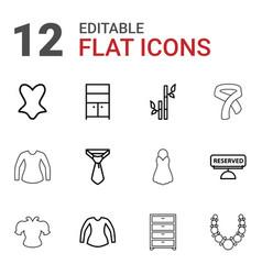 Elegance icons vector