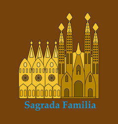 May 15 2014 a of la sagrada familia - the vector