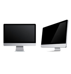 Monitors icons vector