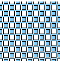 Seamless geometric square pattern background vector
